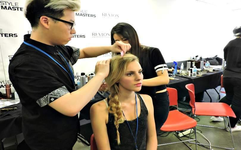 Vancouver Fashion Show Hair