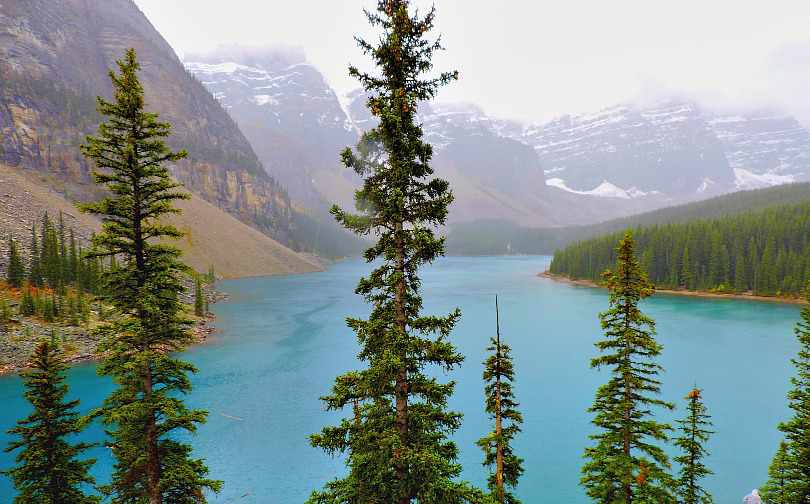 West Trek Tours Moraine Lake, Alberta Canada