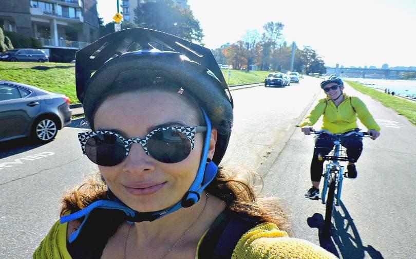 Girls' Weekend in Vancouver - Seawall Cycle