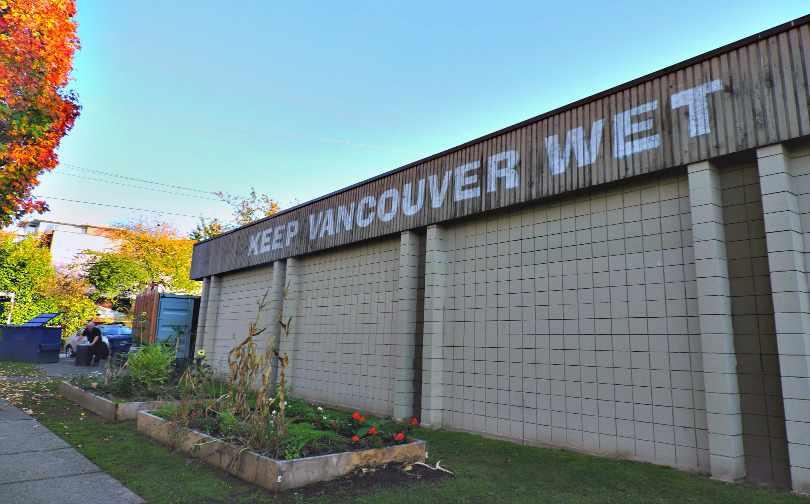 Keep Vancouver Wet Mount Pleasant POTF 15 Fan Girls for Van