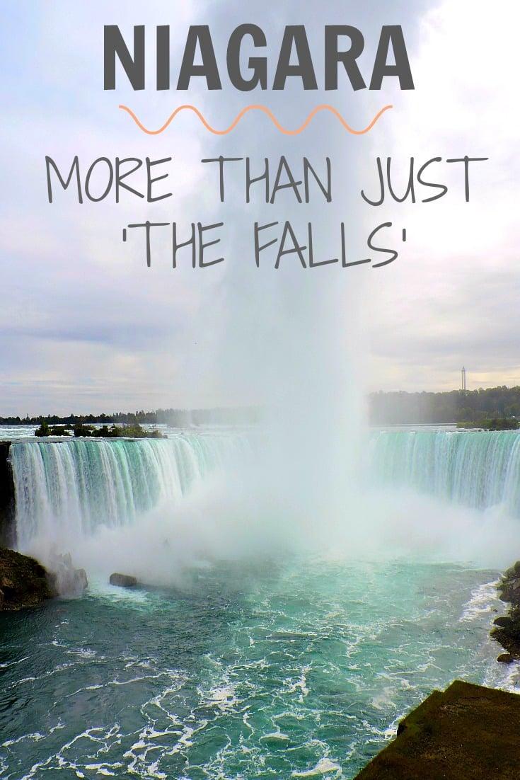 Niagara Falls is one of the most popular tourist attractions in Canada. Wine & Waterfalls - Niagara - A fun balance.