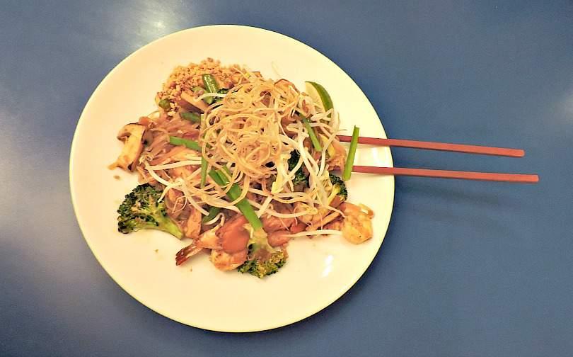 Pad Thai Bob Likes Thai Food Girls' Weekend in Vancouver