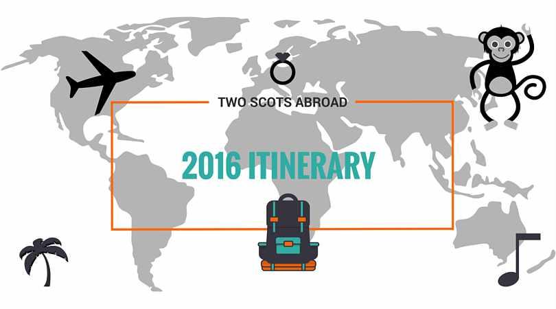 2016 ITINERARY