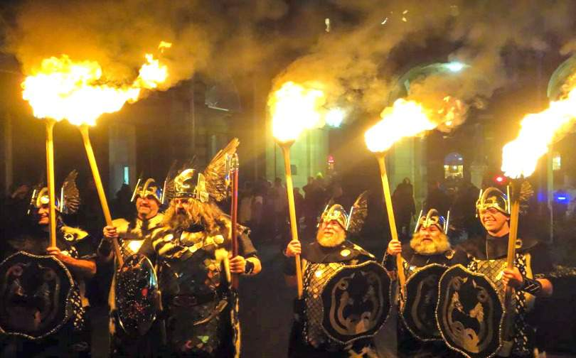 Edinburgh Torchlight Procession Hogmanay Abroad
