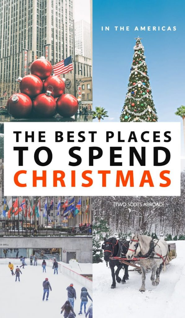 Where to spend Christmas in USA, Canada, Mexico, Chile, Colombia, best Christmas destination in USA, winter in USA, Europe USA travel, America travel tips for winter, holiday travel tips