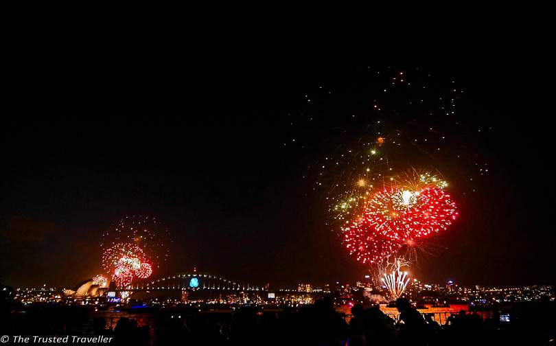 Sydney Harbour New Year's Eve Hogmanay Abroad