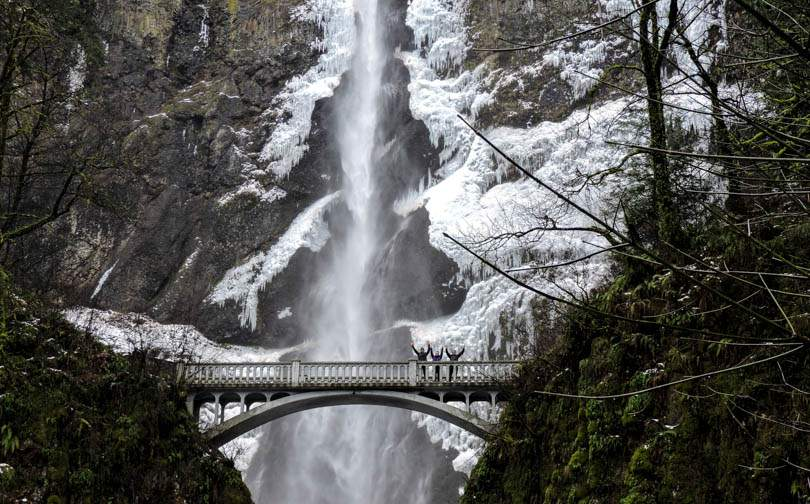 Multnomah Falls Portland PNW POTF 20