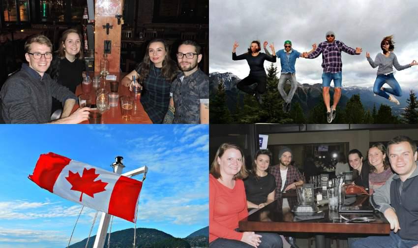 North America Travel Budget Socialising