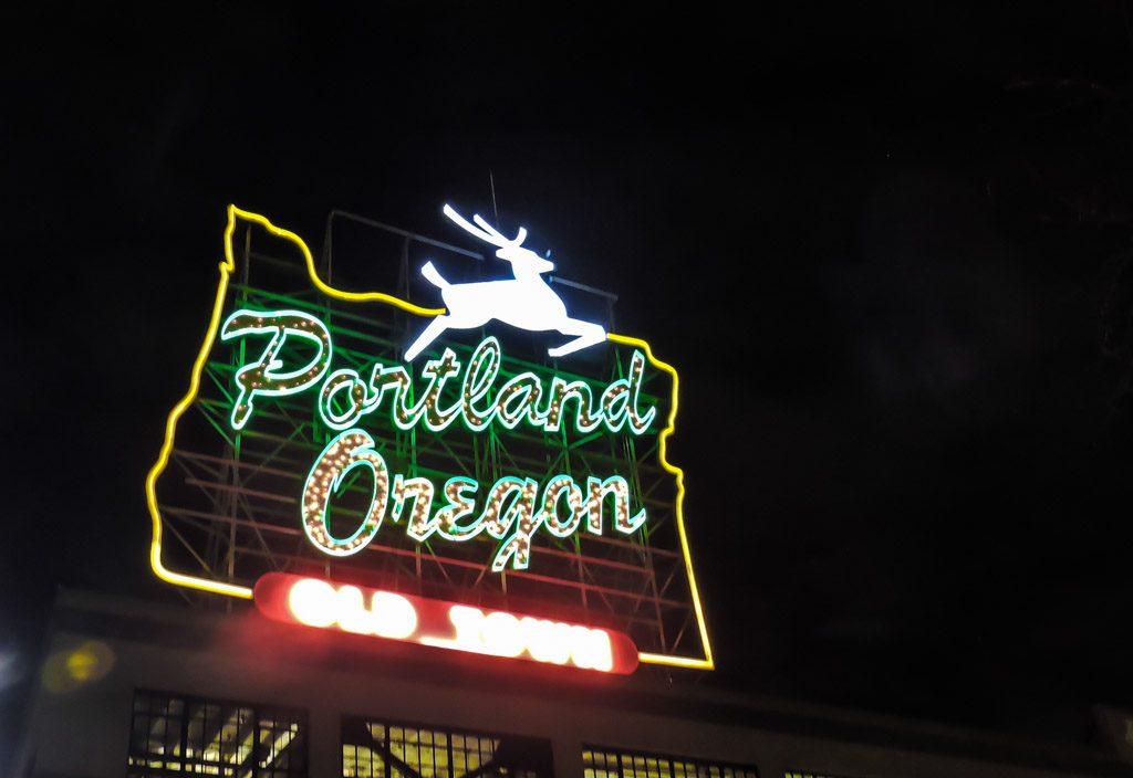 Portland Oregon Sign | Portland Things to Do_