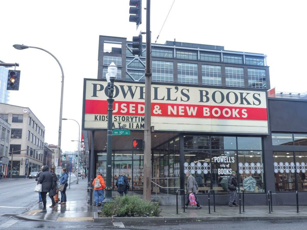 Powells Books Portland