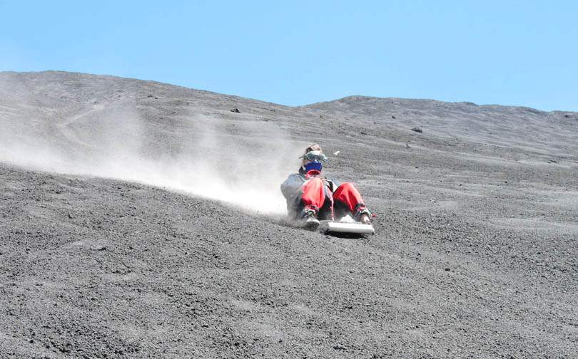 Americas Budget 11 Volcano Boarding Cerro Negro Nicaragua