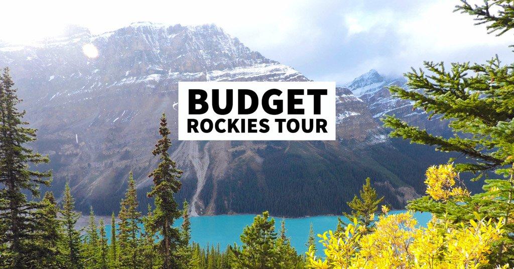 Budget Rockies Tour Canada