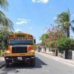 Bus from Managua to Leon and Las Peñitas