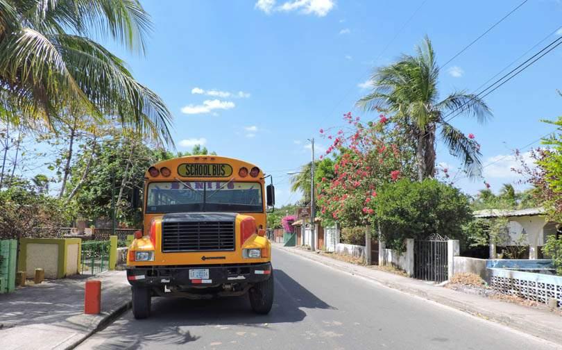 Bus Managua to Leon and Las Penitas Nicaragua_