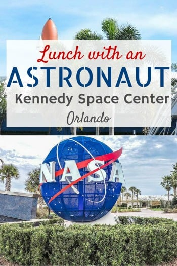 Lunch with an Astronaut at Kennedy Space Center, Orlando Florida with Tinggly Experiences.