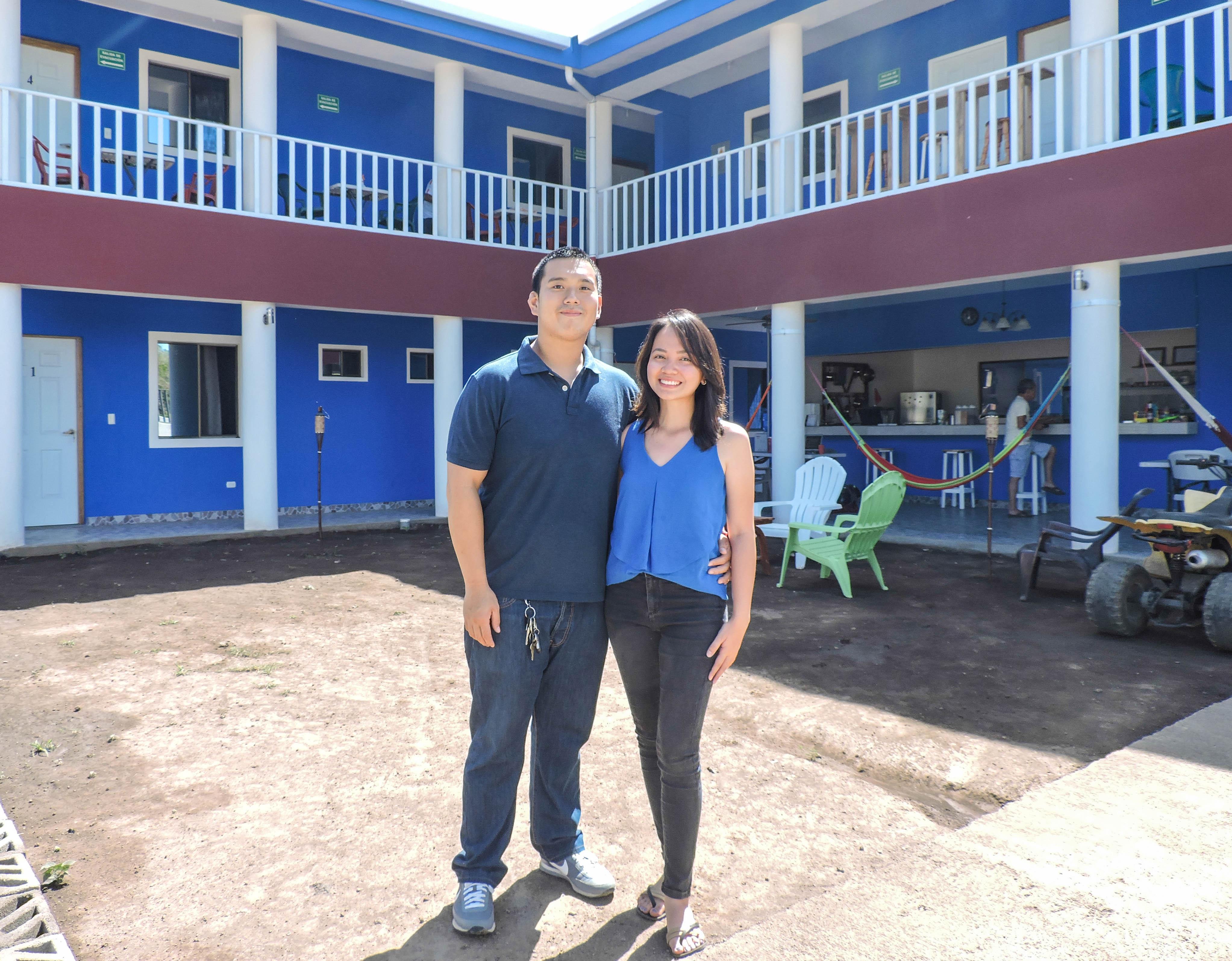 Molly and Calvin Hostal Monte Cristi, Managua