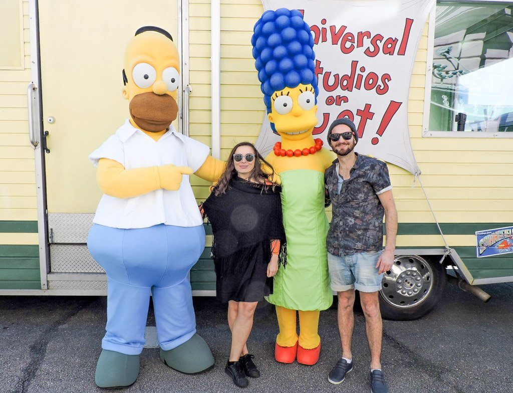 The Simpsons Universal Studios | Orlando on a Budget