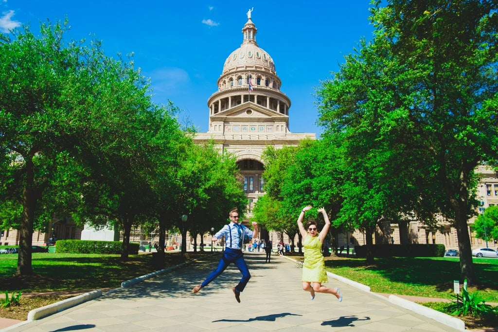 An Austin Elopement - Texas State Capitol - Corey Mendez Photography