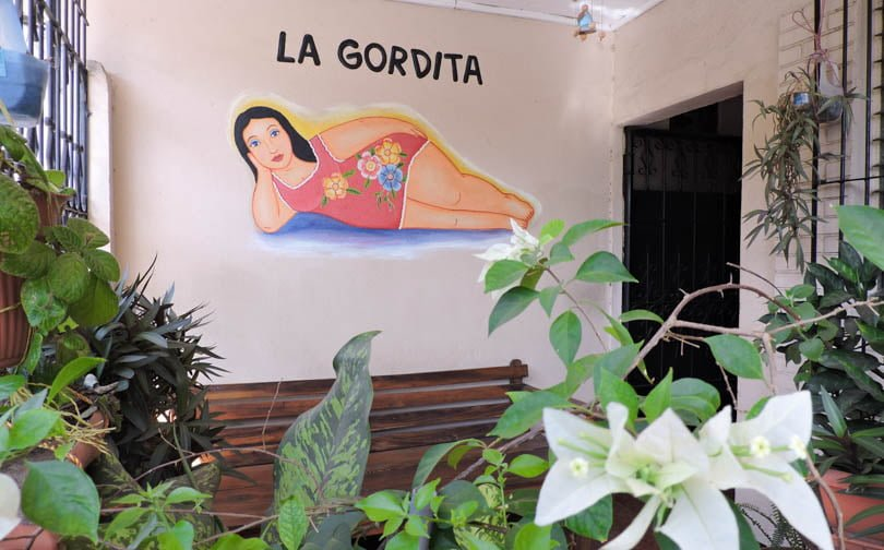 La Gordita Garden Area I Things To Do in Leon Nicaragua