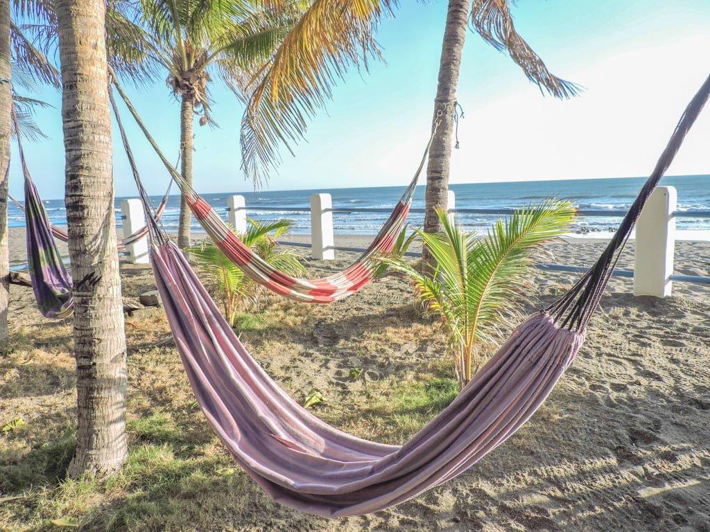 Las Penitas, Nicaragua Bomalu Hotel Hammocks