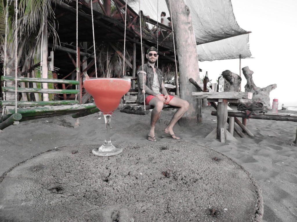 Las Penitas, Nicaragua Coco Surf Cocktails