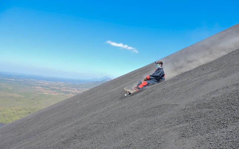 Volcano Boarding in Leon I Cerro Negro Nicaragua