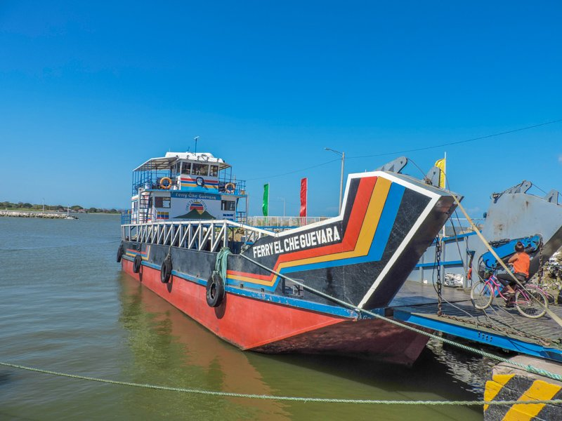 Ometepe Ferry | Backpacking in Nicaragua