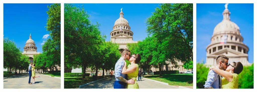 Texas State Capitol, Austin - An Austin Elopement - Corey Mendez Photography
