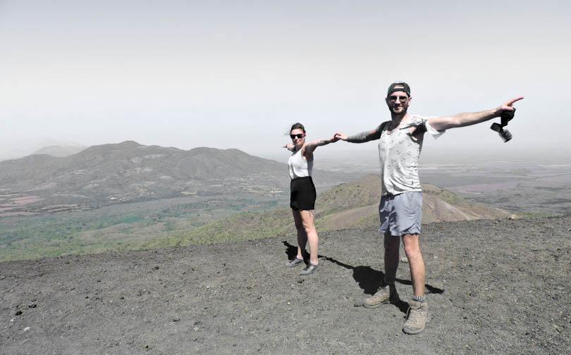 Ring of Fire, Cerro Negro, Volcano Boarding in Leon I Nicaragua