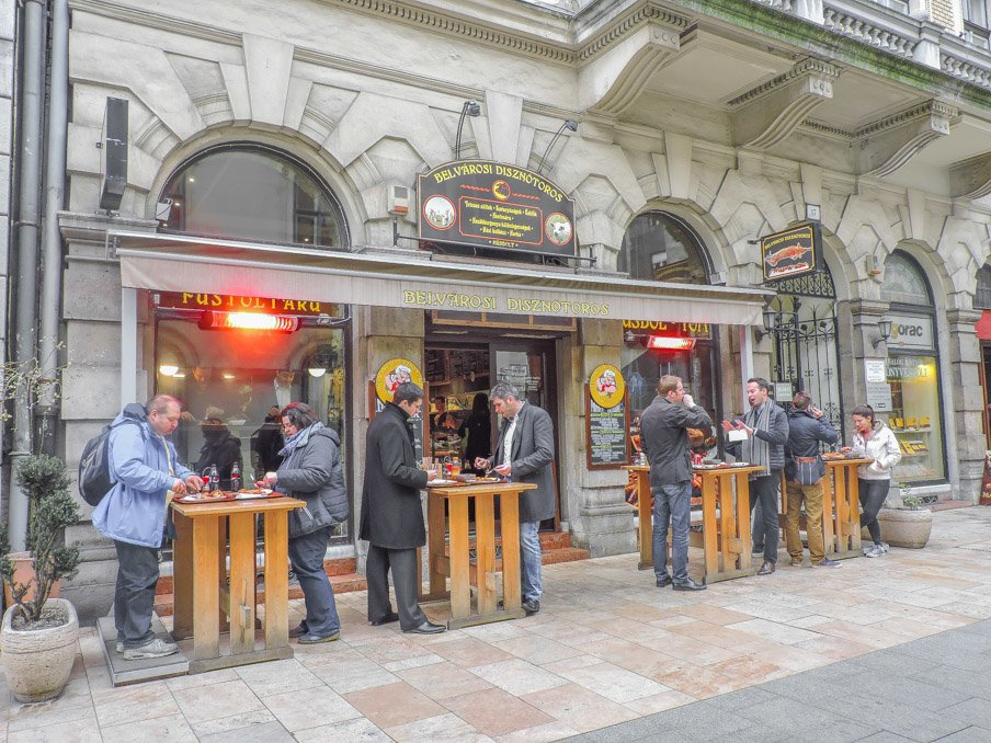 Belvarosi Disznotoros Butcher Budapest, Taste Hungary