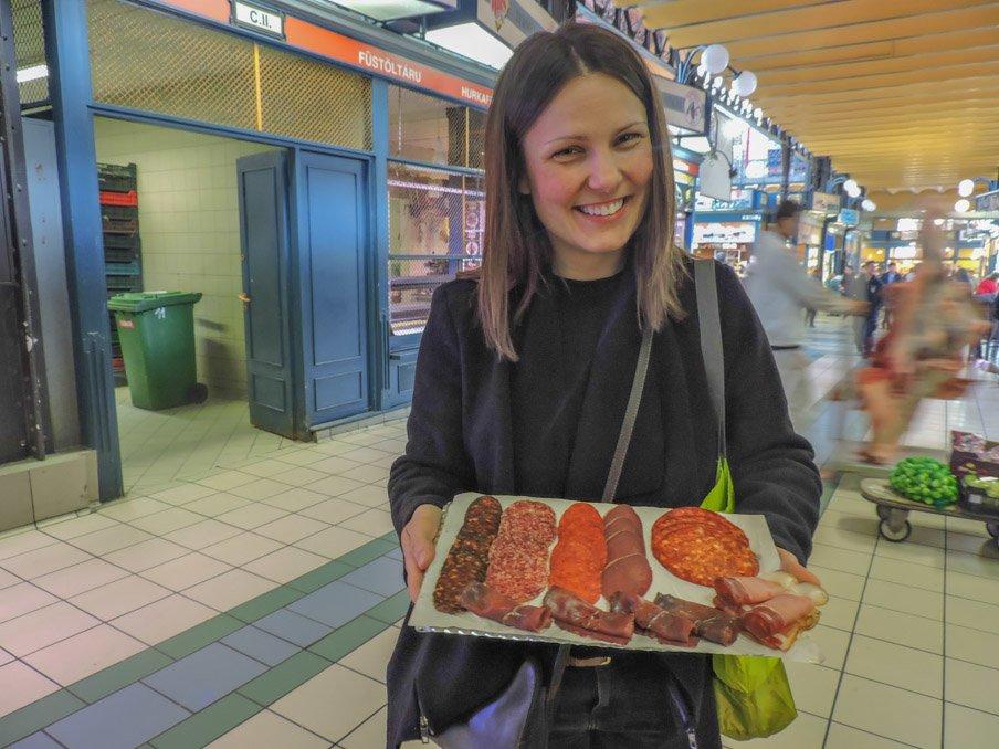 Central Market Budapest, Taste Hungary