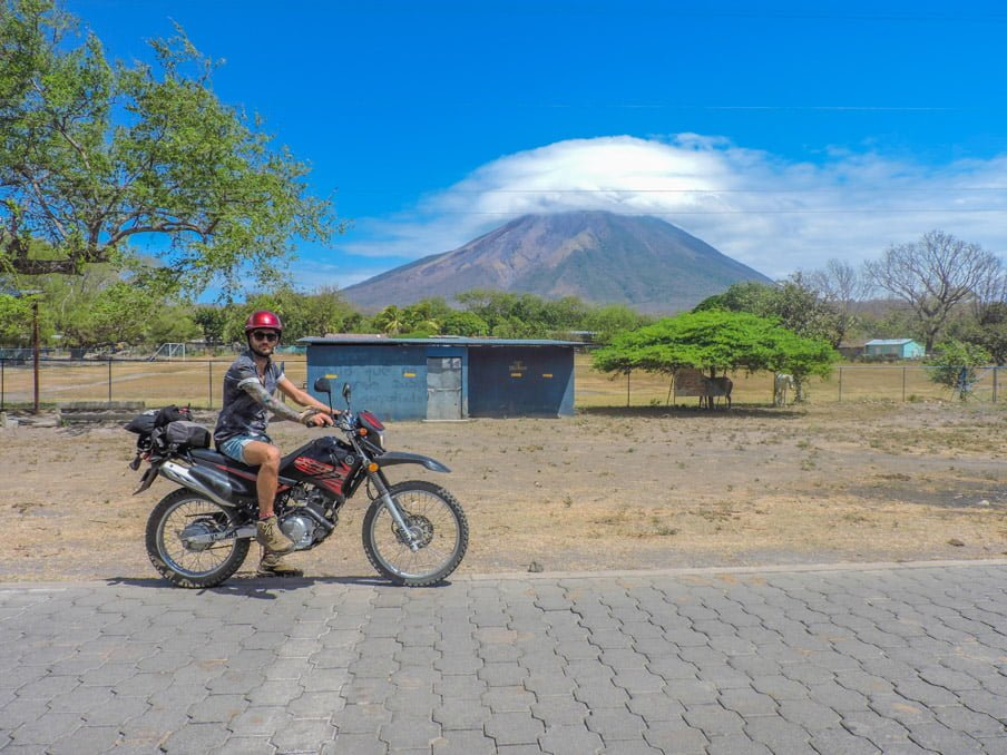 Motorbike, Conception Volcano, Ometepe Nicaragua, Things To Do On Ometepe