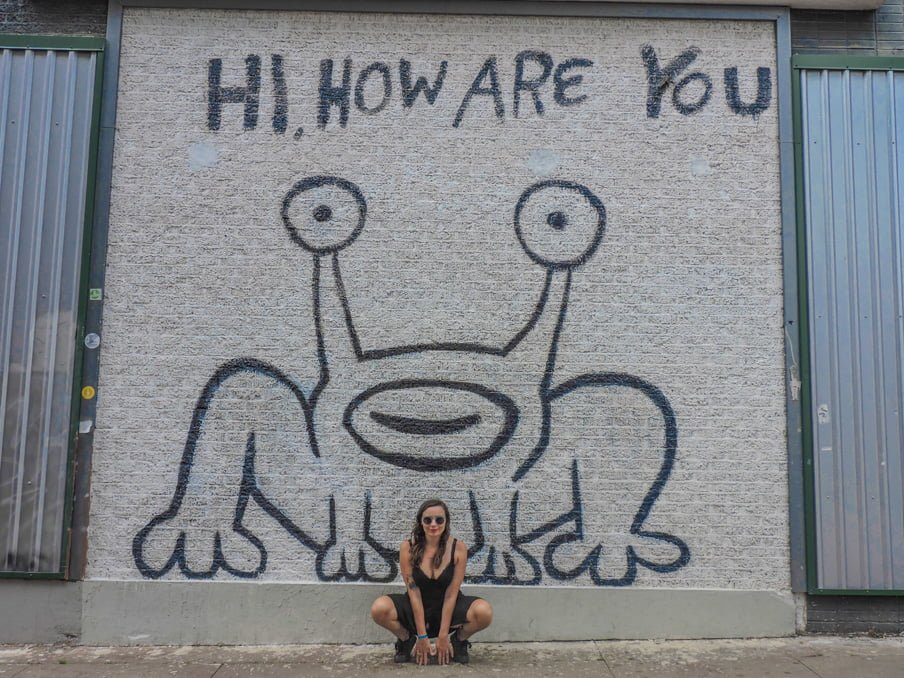 SXSW Austin Hi How Are You by Daniel Johnston