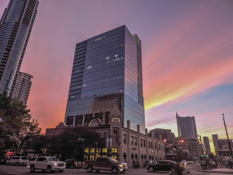 SXSW Sunset in Austin