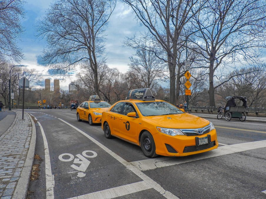 What We Spent Month 13 New York Central Park Taxi