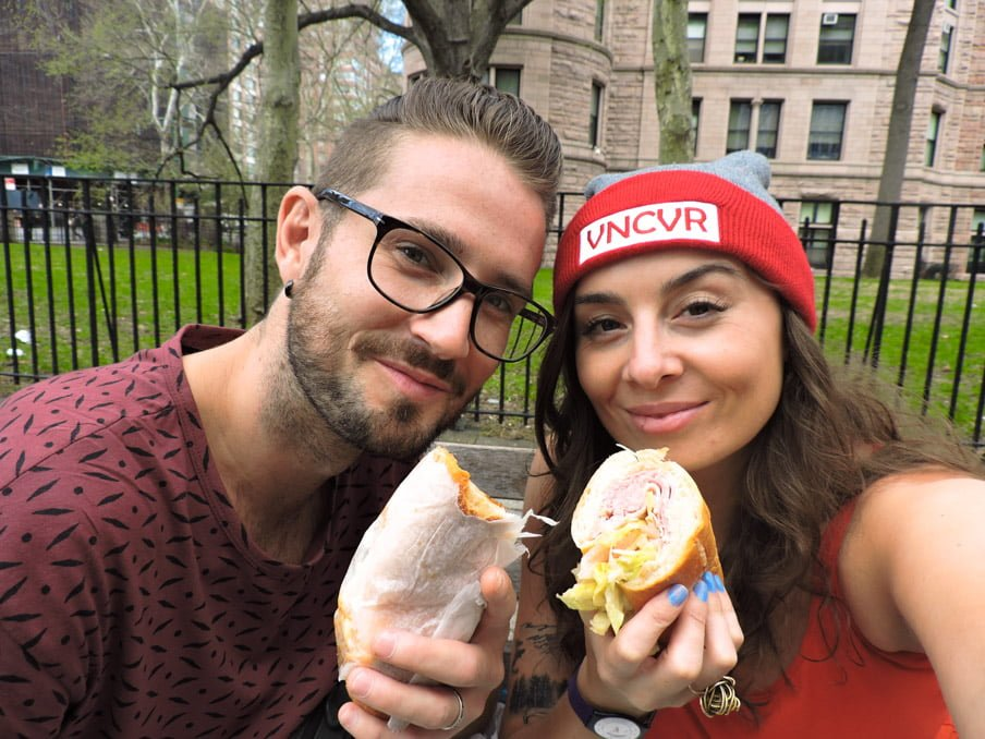 What We Spent Month 13 New York Deli Food