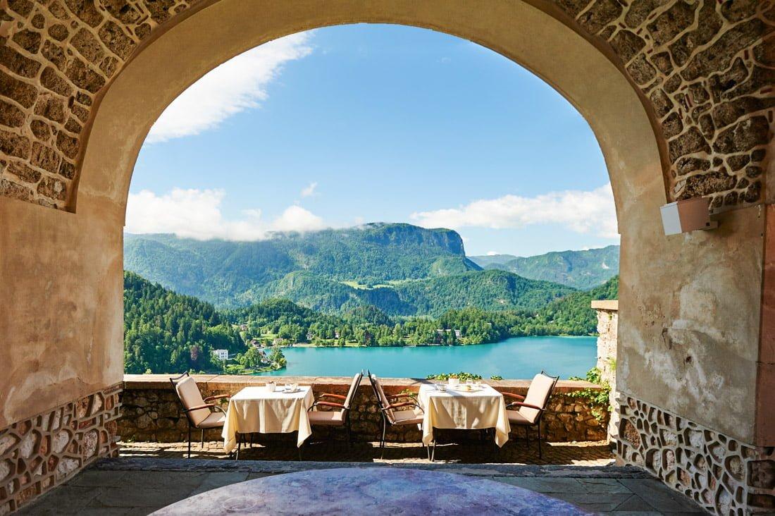 Bled Castle Restaurant Dining