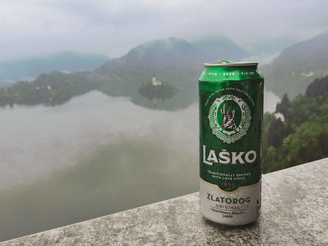 The famous Lake Bled Slovenia
