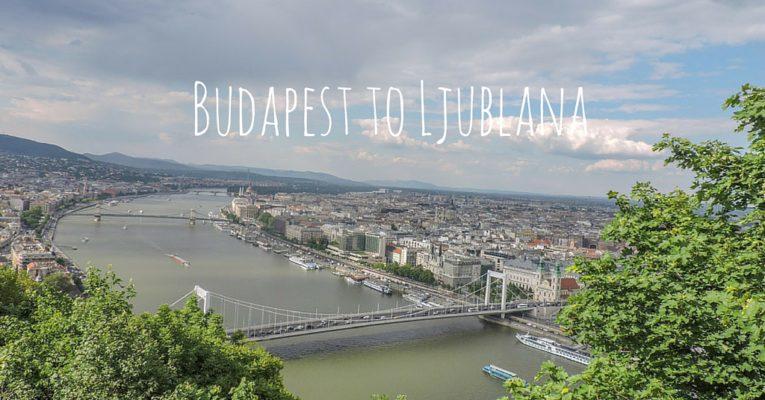 Budapest to Ljubljana