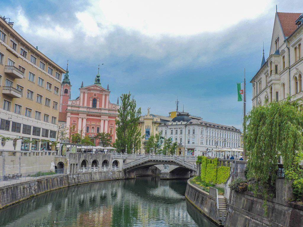 Budapest to Ljubljana I Ljubljana Bridge