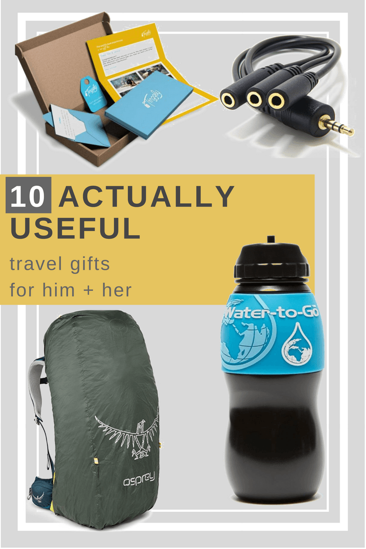 10 New Tried & Tested Tempting Travel Gifts