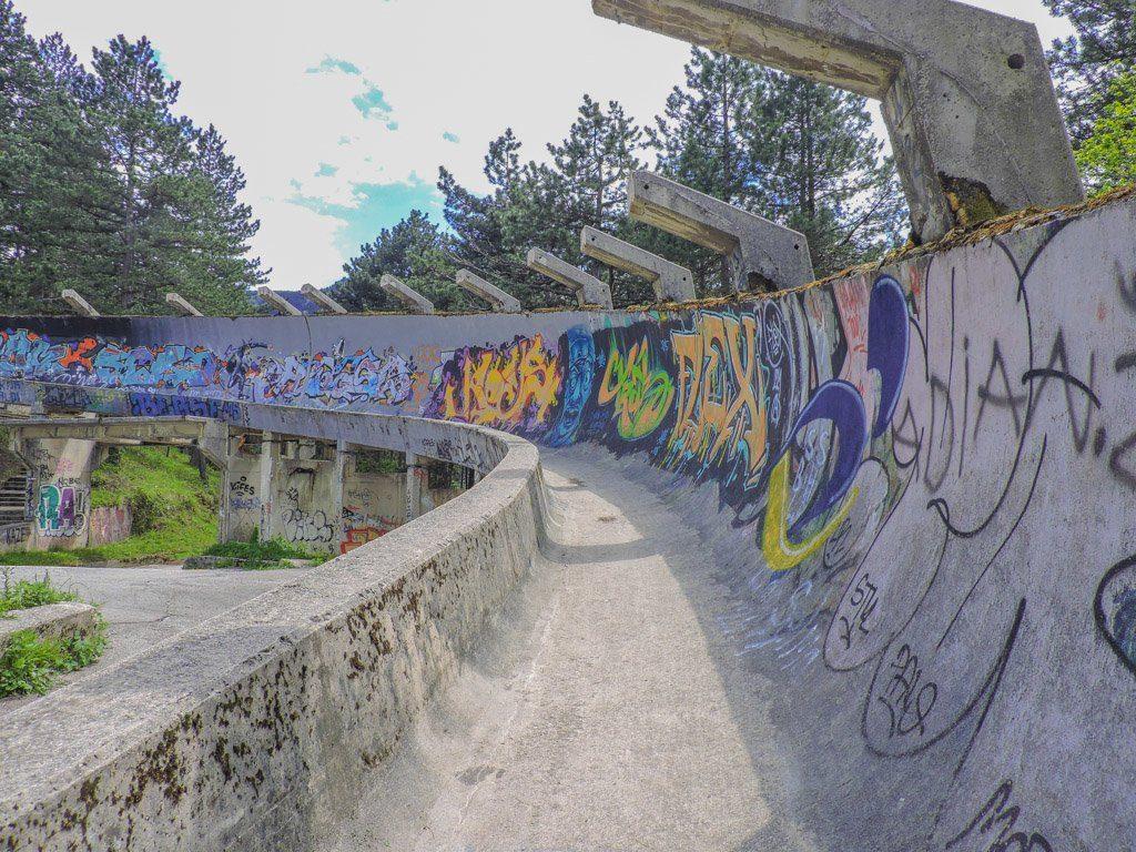 Abandoned Bobsleigh Track, Sarajevo Bosnia I Sarajevo Where To Stay and What To Do