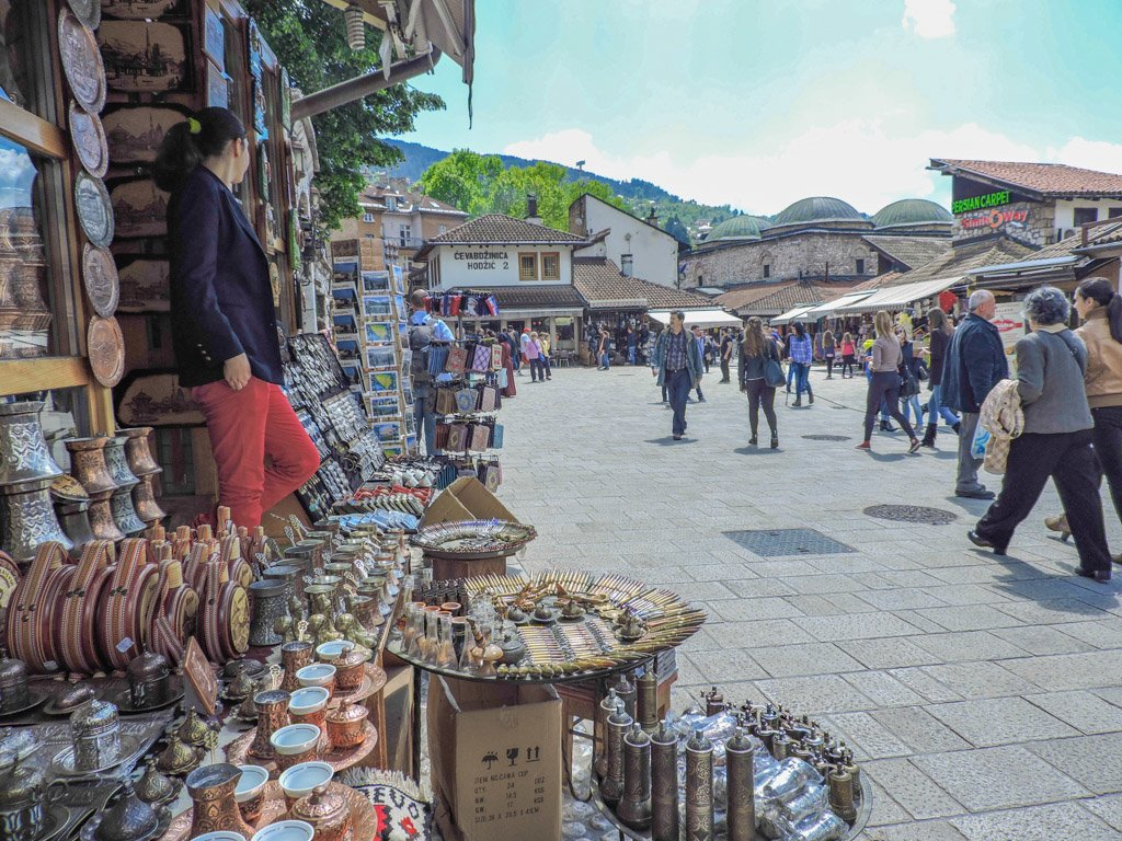 Bascarsija Old Town Sarajevo I Sarajevo