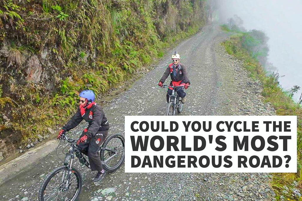 Cycling Death Road, Bolivia