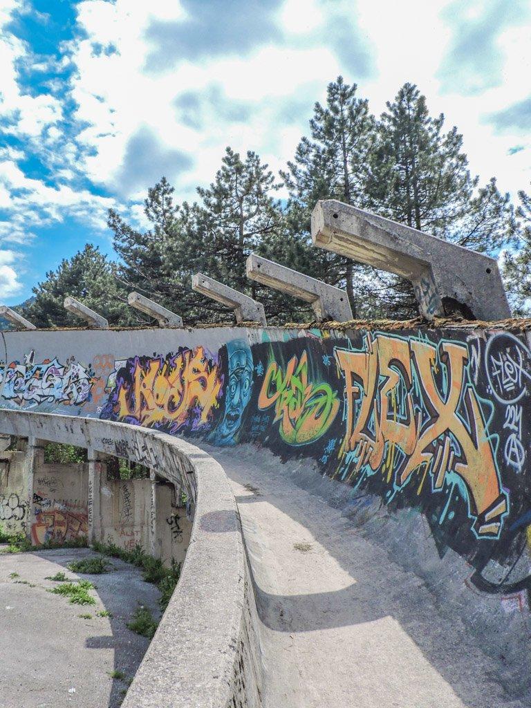 Sarajevo Bobsled and Luge Track I Bosnia and Herzegovina