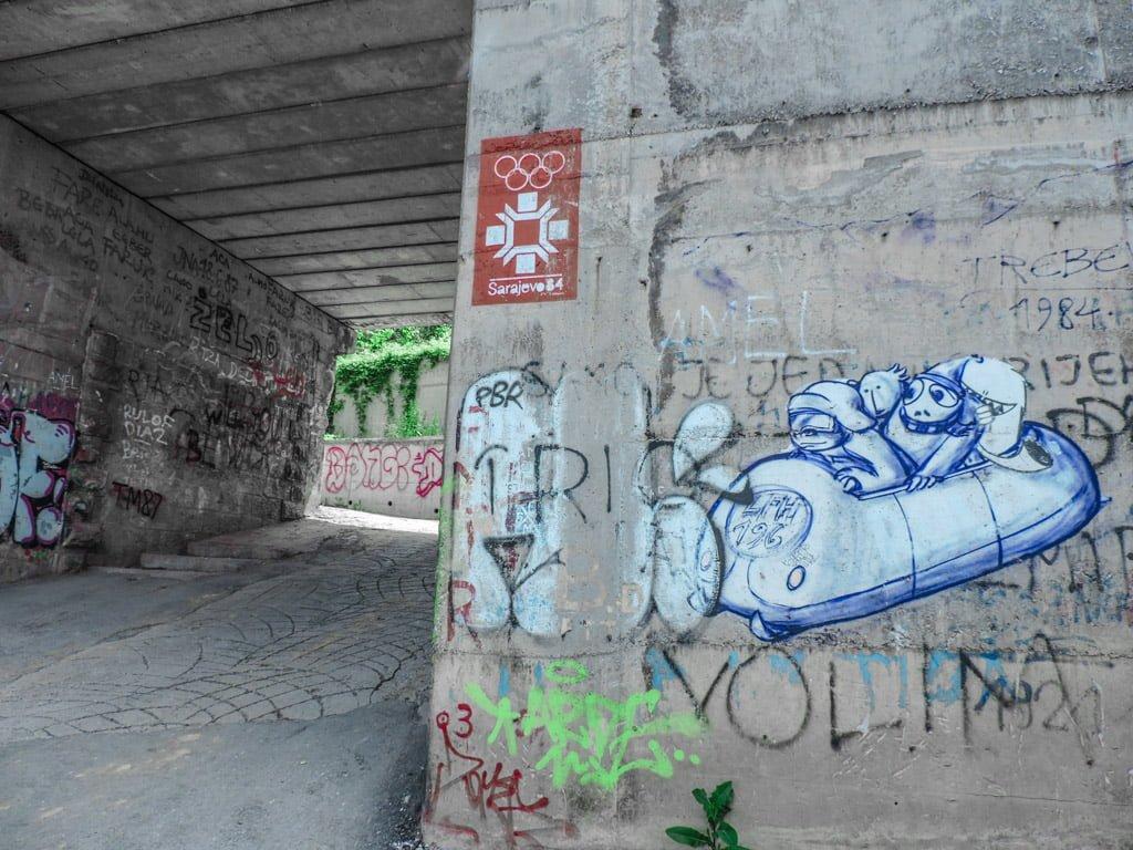 Sarajevo Bobsled Track I Mount Trebevic I Bosnia and Herzegovina