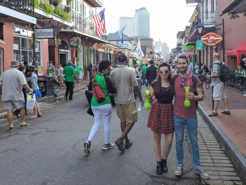 Bourbon Street Hand Grenades New Orleans_