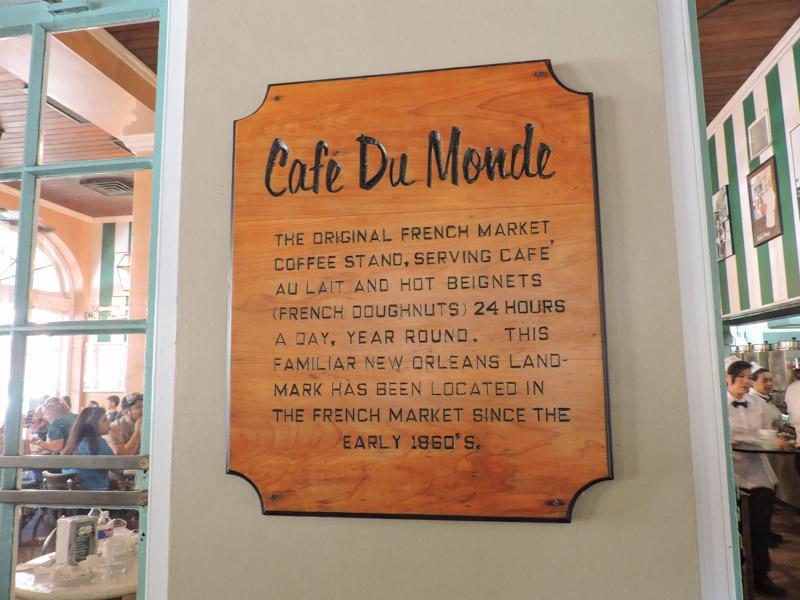 Cafe Du Monde New Orleans_