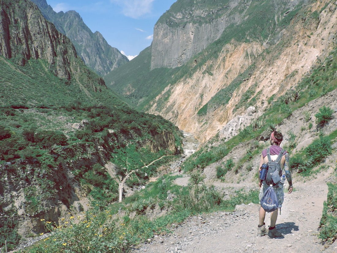 Colca Canyon Peru Hike Day Bag