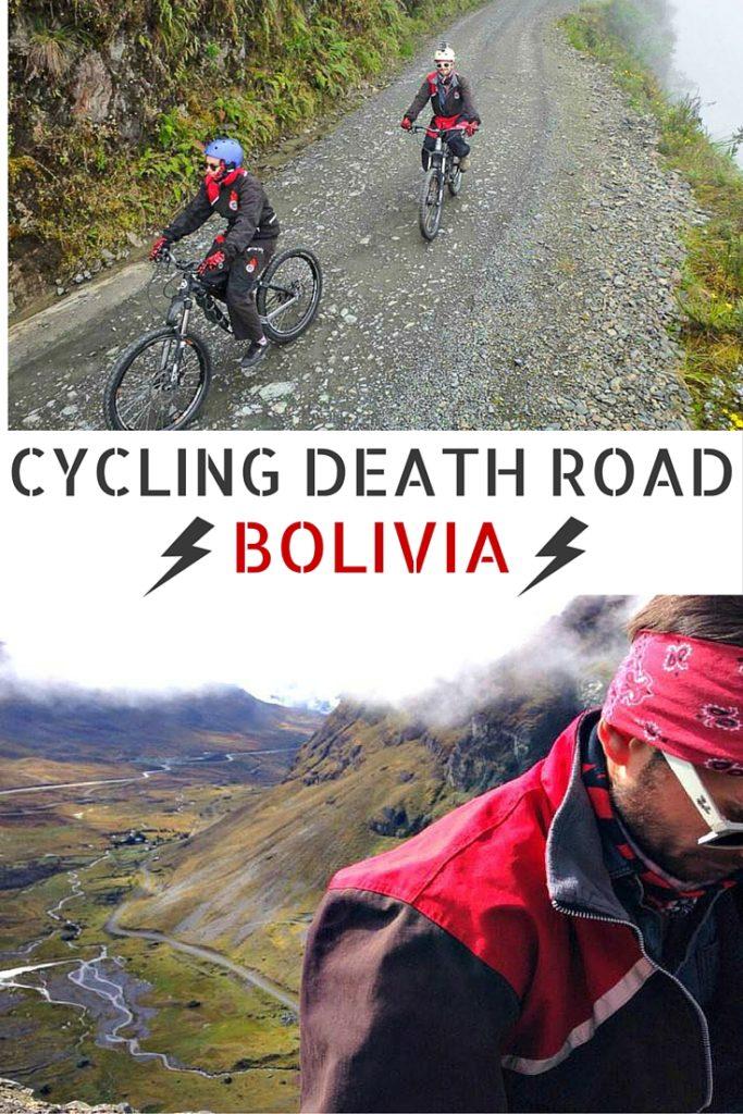 Cycling Death Road, Bolivia
